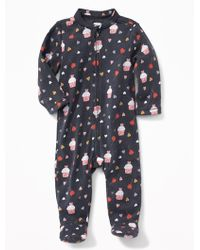 Old Navy - Valentine's Day-print Footed Sleeper - Lyst