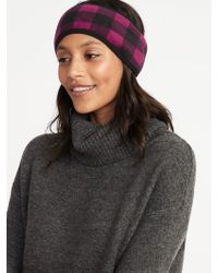 Old Navy - Go-warm Performance Fleece Earwarmer Headband - Lyst