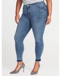 bcde5584e4dea Old Navy - High-rise Secret-slim Pockets Plus-size Rockstar Ankle Jeans