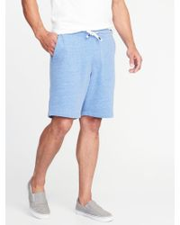 Old Navy - French-terry Performance Shorts - Lyst