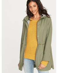 Old Navy - Water-resistant Hooded Anorak - Lyst