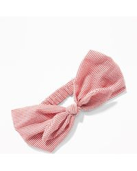 Old Navy - Bow-tie Head Wrap - Lyst