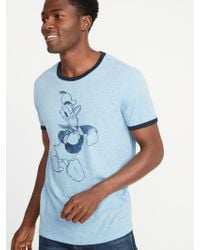 e9be11496d5e Lyst - Urban Outfitters Vintage  90s Donald Duck Tee in Blue for Men