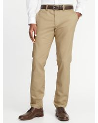 Old Navy - Slim Built-in Flex Non-iron Ultimate Pants - Lyst