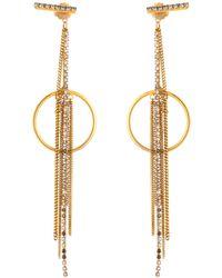 Erickson Beamon - Breaker Of Chains Earrings - Lyst