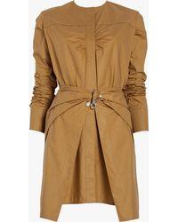 Carven - Poplin Wrap Dress - Lyst