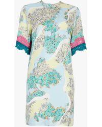 Emilio Pucci - Floridiana Printed Shift Dress - Lyst
