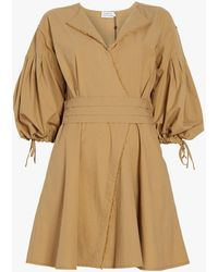 Tanya Taylor - Rachele Cotton Poplin Dress - Lyst