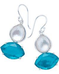 Ippolita - Wonderland Two Stone Drop Earrings - Lyst