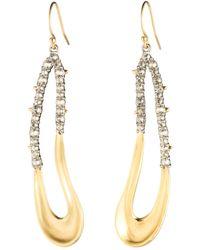 Alexis Bittar - Crystal Freeform Drop Earrings - Lyst