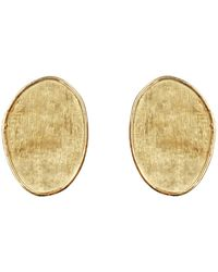 Marco Bicego - Lunaria Gold Small Stud Earrings - Lyst
