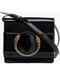 7e672b3cbc Lyst - Roberto Cavalli Gwb043 Pn049 5051 Black Shoulder Bag in Black