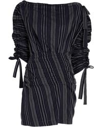 Tanya Taylor - Sabra Stitched Stripe Dress - Lyst