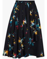 Jason Wu - Cotton Poplin Cascade Skirt - Lyst