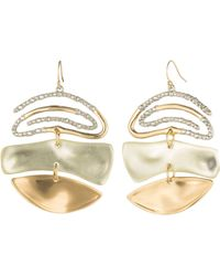 Alexis Bittar - Crystal Spiral Mobile Earrings - Lyst