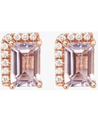 KALAN by Suzanne Kalan - Rose De France Stud Earrings - Lyst