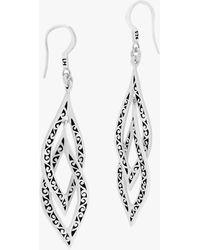 Lois Hill - Double Teardrop Earrings - Lyst