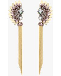 Deepa Gurnani - Xyla Earrings - Lyst