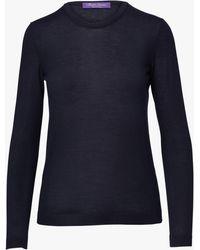 Ralph Lauren Collection - Cashmere Jersey Sweater - Lyst