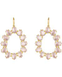 Larkspur & Hawk - Caterina Small Frame Earrings - Lyst