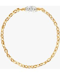 Yi Collection - Diamond Marquis Chain Ring - Lyst