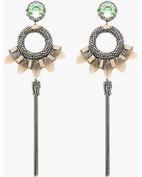 Deepa Gurnani - Christina Earrings - Lyst