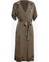 Hensely - Trench Coat - Lyst