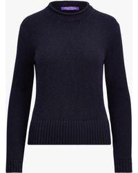 Ralph Lauren Collection - Lofty Cashmere Sweater - Lyst