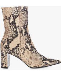Dorothee Schumacher - Exotic Belief Snake Print Boot - Lyst