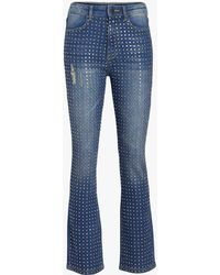 Alice + Olivia - Fabrice High Rise Boot Cut Jeans - Lyst