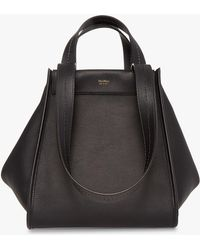 Max Mara - Anita Reversible Leather Handbag - Lyst