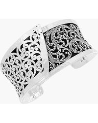 Lois Hill - Hand Carved Overlapping Cuff Bracelet - Lyst