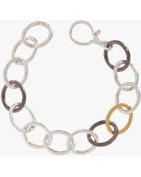 Gurhan - Hoopla Tri-color Oval Linked Bracelet - Lyst