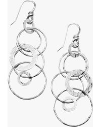 Ippolita - Classico Hammered Jet Set Earrings - Lyst
