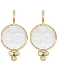 Temple St. Clair - Classic Trio Earrings - Lyst