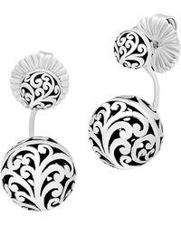 Lois Hill - Bead Drop Earrings - Lyst