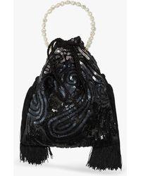 Lizzie Fortunato - Deco Sequins Gala Wristlet - Lyst