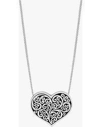 Lois Hill - Reversible Heart Mom Necklace - Lyst