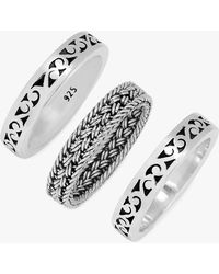 Lois Hill - Triple Stacked Ring Set - Lyst
