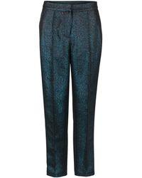 Oliver Bonas - Sparkle Blue Trousers - Lyst