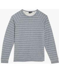 Onia - Dave Raglan Sweatshirt (deep Sky) Men's Sweatshirt - Lyst