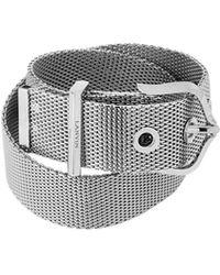 Lanvin - Double Chain Bracelet - Lyst