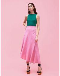 LaDoubleJ - Sleeveless Pina Dress - Lyst