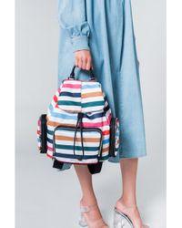 Sonia Rykiel - Forever Nylon Multicolored Backpack - Lyst