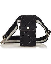 5dbd8fe158b9 Lyst - Chanel Lip Stick Line Chain Shoulder Tote Bag A47926 Patent ...