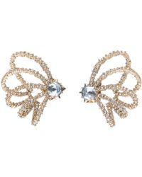 Alexis Bittar - Crystal Lace Orbiting Post Earring - Lyst