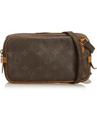 884867b65 Lyst - Louis Vuitton Monogram Marly Bandouliere in Natural