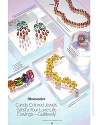 Kenneth Jay Lane - Cosmopolitan/ February 2018 - Crystal & Turquoise Oval Ring - Lyst