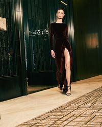 SemSem - Sireen Long Dress - Lyst