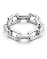 WALTERS FAITH - Saxon Men's Sterling Silver Large Chain Link Ring - Lyst